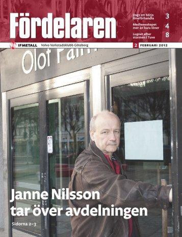 Janne Nilsson tar över avdelningen - IF Metall