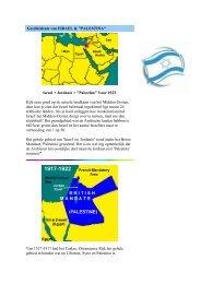 Geschiedenis van ISRAEL &