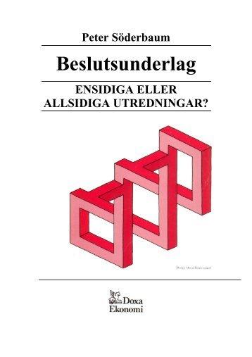 Beslutsunderlag - Ekonomihögskolan - Mälardalens högskola