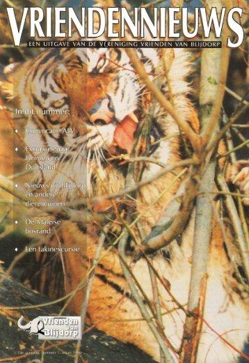 1996-18-01 - Vrienden van Blijdorp