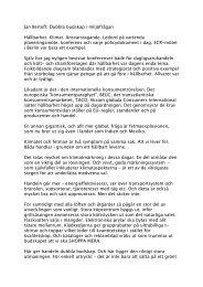 debattartikeln om klimatfrågor - Sveriges Konsumenter