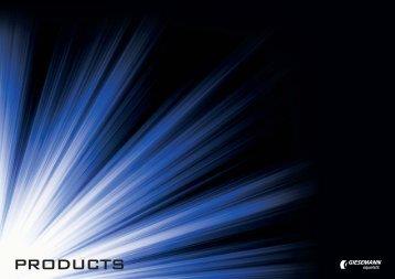 Produits 2013 (Italien / French) - giesemann