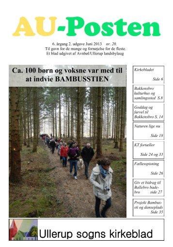 Ullerup sogns kirkeblad - Avnbøl-Ullerup Landsbylaug