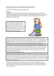 Diagnostiek van spraak- en taalproblemen bij jonge kinderen - Bosk