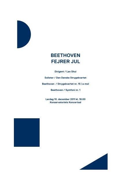 Beethoven fejrer jul / 10. december 2011 - Copenhagen Phil