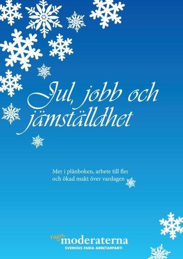 Jul, jobb & jämställdhet - Nätverket jämställda löner