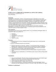 overvallen voorkomen of doorstaan effectief gedrag - MKB-Amsterdam