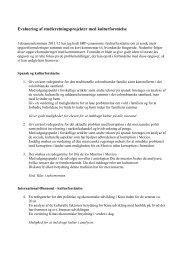 Evaluering af SRP med Kulturforståelse.pdf - E-learn (SDU)