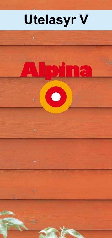 Utelasyr V - Alpina AB