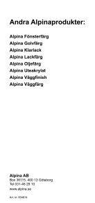 Utelasyr V - Alpina AB - Page 4