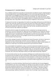Vedtaget af SF's landsmøde 15. april 2012 Principprogram for SF ...