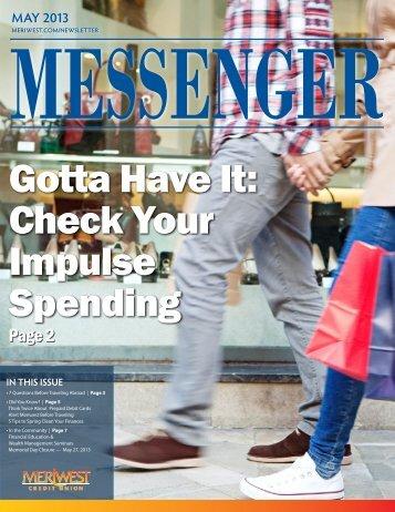 Gotta Have It: Check Your Impulse Spending - Meriwest Credit Union