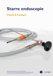 Bekijk het overzicht van onze starre endoscopie en de ... - Rescope