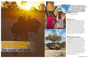 safaricursus in Botswana - Botswana Trails