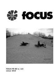 Focus marts 2010 - No Sogneforening