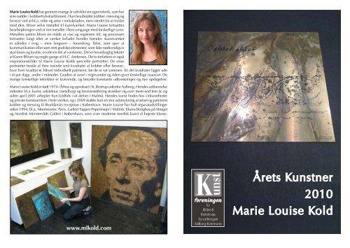 Årets Kunstner 2010 Marie Louise Kold - The Art of Marie Louise Kold