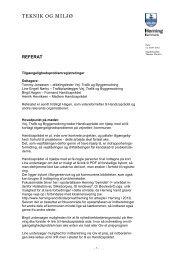 REFERAT_Tilgængelighedsproblemer_LN 2 - Herning Kommune