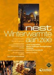 14 tot 16 december Noorse Stallingen, Koninginnelaan Oostende ...