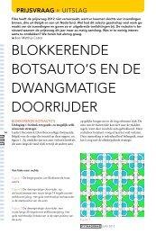BlokkereNde BotsaUto's eN de dwaNgmatIge doorrIJder - Pythagoras