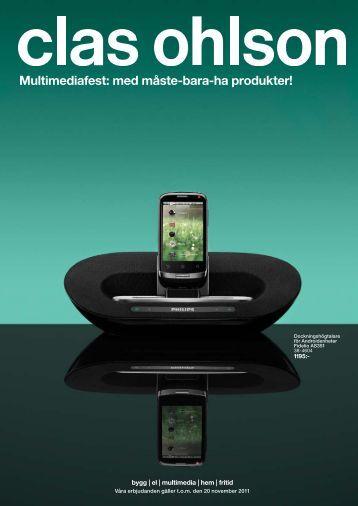 Multimediafest: med måste-bara-ha produkter! - Clas Ohlson