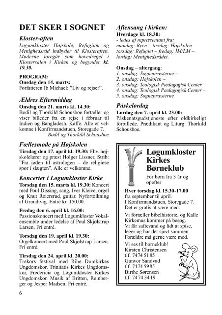 Kirkeblad nr 2 - Løgumkloster Kirke