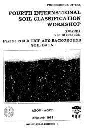 FOURTH INTERNATIONAL SOIL CLASSIFICATION ... - PART - USAID