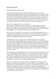 1 Een levende uitvaart Zaterdag 28 oktober 2006-F. Starik. Een paar ...