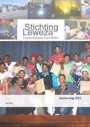 Jaarverslag 2011 - Stichting Leweza
