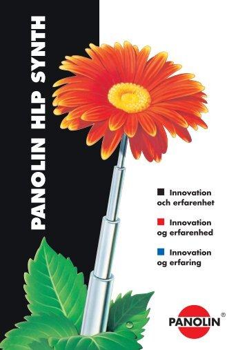 P ANOLIN HLP SYNTH - Industri Kemi Aps.