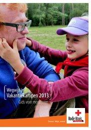 Infoboekje monitoren - Word vrijwilliger - Rode Kruis-Vlaanderen