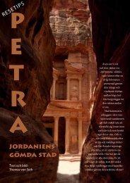 jordaniens gömda stad