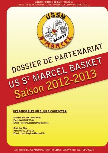 Saison 2012-2013 - US SAINT MARCEL BASKET