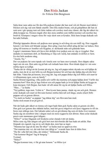 Den Röda Jackan - Teskedsorden