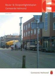 Bouw- en Sloopveiligheidsplan hier - Gemeente Helmond