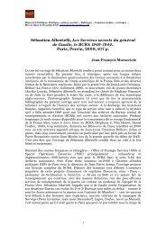 Sébastien Albertelli, Les Services secrets du général de Gaulle, le ...