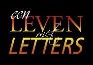Een Leven Met Letters - 1 - theobakker.net