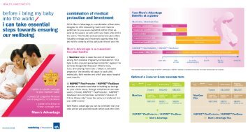 Mum's Advantage Brochure - AXA Life Insurance Singapore