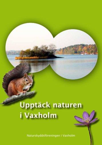 Upptäck naturen i Vaxholm - Naturskyddsföreningen