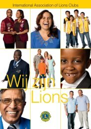 International Association of Lions Clubs