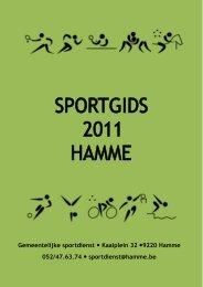 deze sportgids - Gemeente Hamme