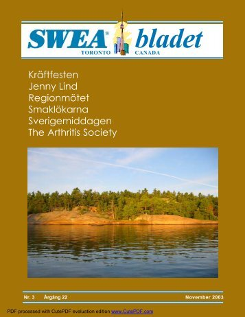 SWEA-bladet nr 3 November 2003 version 2.pmd - SWEA Toronto