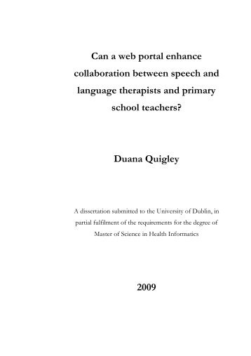 Duana Quigley 2009 - Irish Health Repository