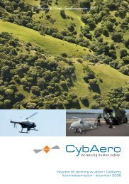 Inbjudan till teckning av aktier i CybAeros ... - CybAero AB