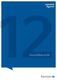 12Geschäftsbericht - Hannover Re Group - Annual Report 2012