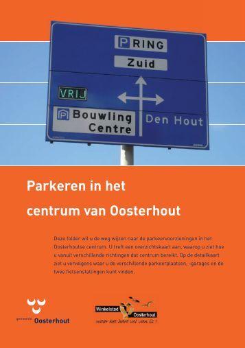 Parkeren in het centrum van Oosterhout - VVV Oosterhout