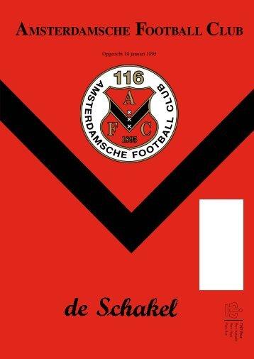 16 februari 2011 89ste jaargang nummer 7 - AFC, Amsterdam