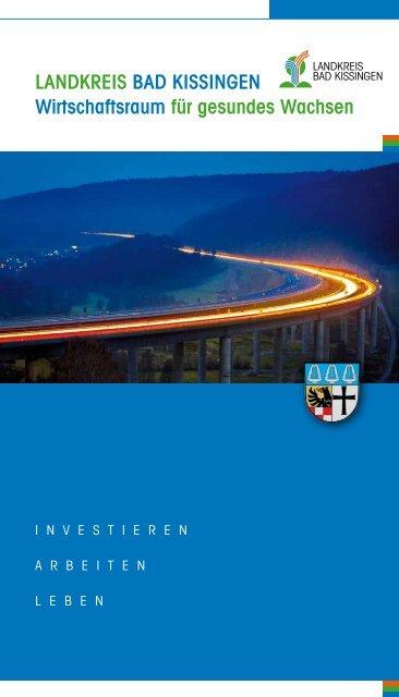 Wirtschaftsbroschüre Landkreis Bad Kissingen