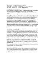Virtueel leren in het hoger beroepsonderwijs - van Fons Vernooij