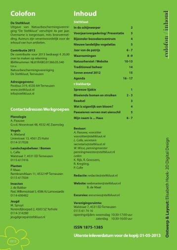 binnenwerk lente 2013.indd - Natuurbeschermingsvereniging De ...