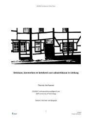 Ontstaan, karakteristieken en betekenis - Portfolio Architectuur en ...